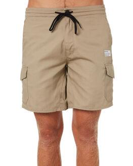 KHAKI MENS CLOTHING HURLEY SHORTS - AJ2627235