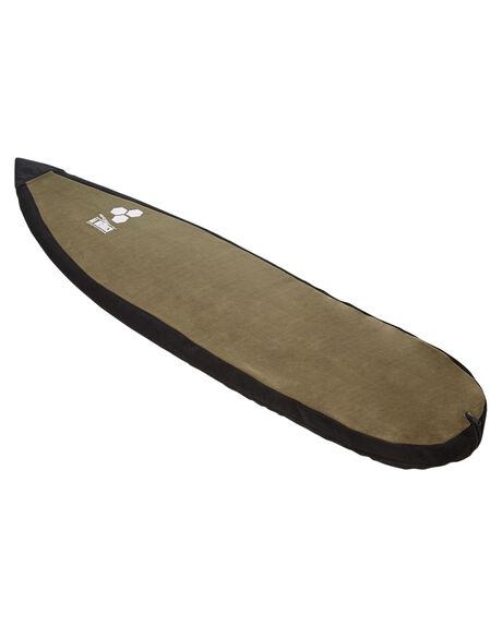 BLACK GREEN BOARDSPORTS SURF CHANNEL ISLANDS BOARDCOVERS - 2061510001364BLKGR