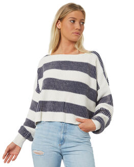 NAVY WOMENS CLOTHING FREE PEOPLE KNITS + CARDIGANS - OB8264554405
