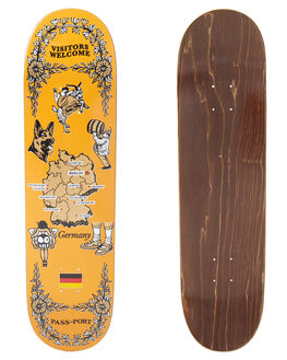 MULTI SKATE DECKS PASS PORT  - R22TEATOWELGRMMULTI