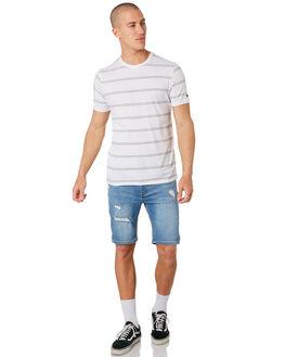 WHITE MENS CLOTHING RIP CURL TEES - CTESA21000