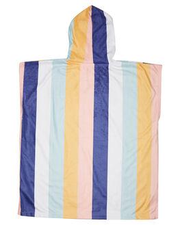 WHITE KIDS GIRLS RIP CURL TOWELS - FTWAJ11000