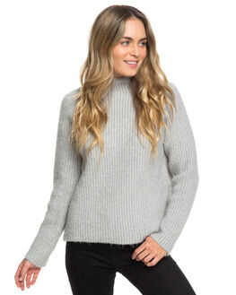 HERITAGE HEATHER WOMENS CLOTHING ROXY KNITS + CARDIGANS - ERJSW03326-SGRH