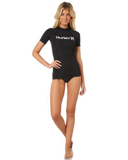 BLACK WHITE BOARDSPORTS SURF HURLEY WOMENS - AJ2650-010
