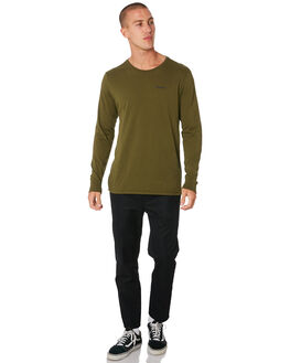 OLIVE CANVAS MENS CLOTHING HURLEY TEES - AJ1740395
