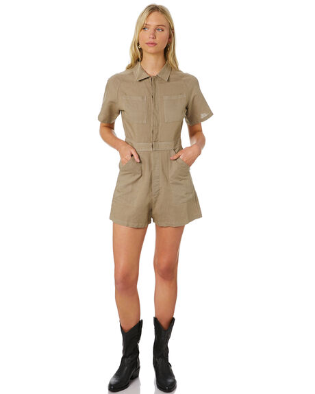 ARMY FADE WOMENS CLOTHING THRILLS PLAYSUITS + OVERALLS - WTS20-950FAFD