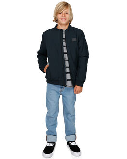 BLACK KIDS BOYS QUIKSILVER JUMPERS + JACKETS - EQBJK03171-KVJ0