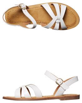 WHITE WOMENS FOOTWEAR ROC BOOTS FASHION SANDALS - TSRWS1721WHT