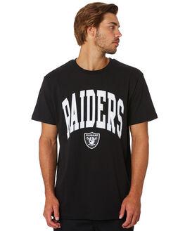 RAIDERS BLACK MENS CLOTHING MAJESTIC TEES - MOR7060DBBLK