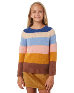 MULTI KIDS GIRLS RUSTY JUMPERS + JACKETS - CKG0002MTI