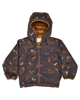 FORGE GREY KIDS BOYS PATAGONIA JUMPERS + JACKETS - 61371-WAFG