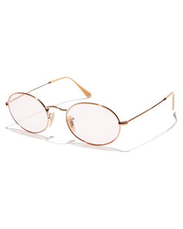 COPPER LIGHT PINK MENS ACCESSORIES RAY-BAN SUNGLASSES - 0RB3547NCOPNK