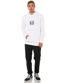 WHITE MENS CLOTHING HUF JUMPERS - PF00034WHT