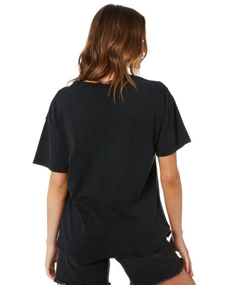 VINTAGE BLACK WOMENS CLOTHING UNIVERSAL TEES - KISS032VBLK