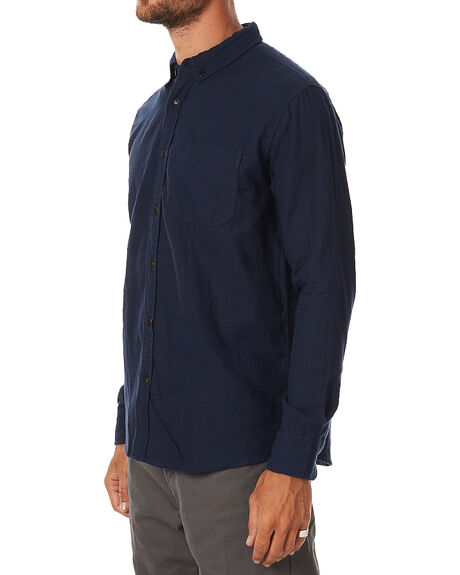 NAVY MENS CLOTHING KATIN SHIRTS - WVCLYF16NVY
