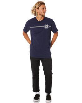 INDIGO MENS CLOTHING SANTA CRUZ TEES - SC-MTB0606INDI