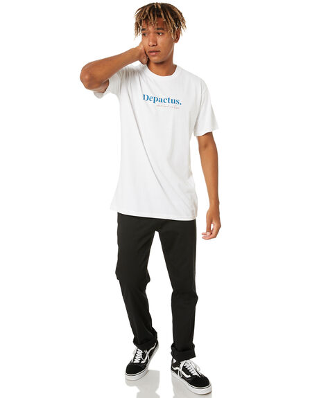 WHITE MENS CLOTHING DEPACTUS TEES - D5211005WHT