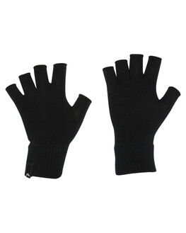 BLACK WOMENS ACCESSORIES RUSTY SCARVES + GLOVES - MAL0248BLK