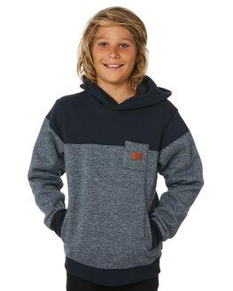 NAVY STRATA MARLE KIDS BOYS BILLABONG JUMPERS + JACKETS - 8595610NVST