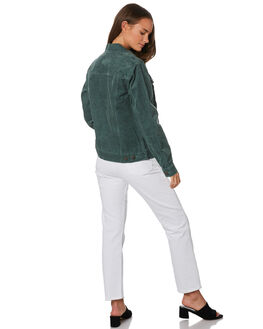 EVERGREEN WOMENS CLOTHING RUSTY JACKETS - JKL0375EVG