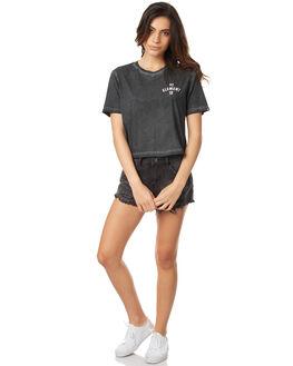 OFF BLACK WOMENS CLOTHING ELEMENT TEES - 273006AOFFBK