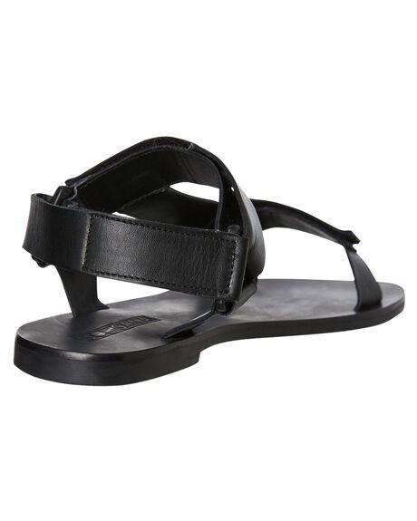 BLACK WOMENS FOOTWEAR SOL SANA FASHION SANDALS - SS192S421BLK