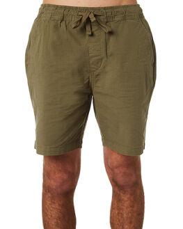 LICHEN MENS CLOTHING DEUS EX MACHINA SHORTS - DMP83582LICH