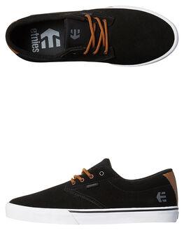 BLACK BROWN GREY MENS FOOTWEAR ETNIES SNEAKERS - 4101000449591