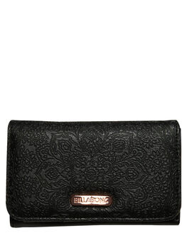 BLACK WOMENS ACCESSORIES BILLABONG PURSES + WALLETS - 6695201BLK