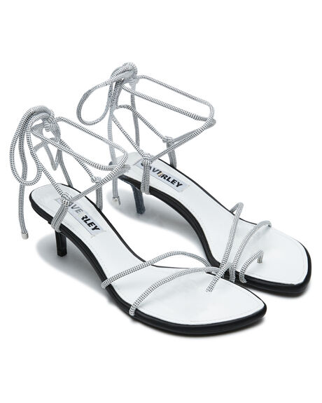 WHITE OUTLET WOMENS CAVERLEY HEELS - 202S131SWHI