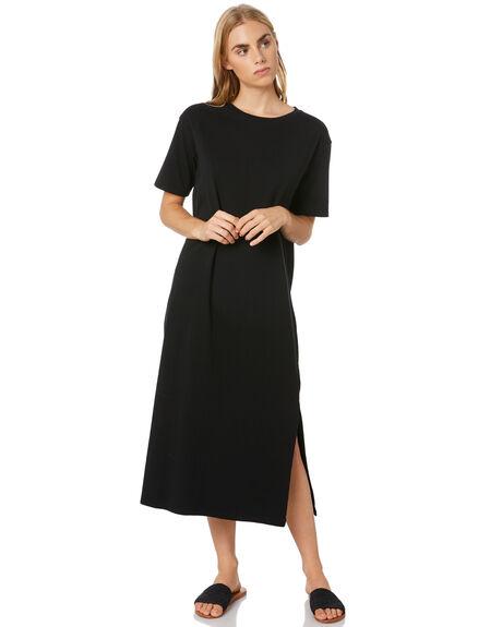 BLACK WOMENS CLOTHING SWELL DRESSES - S8204446BLACK