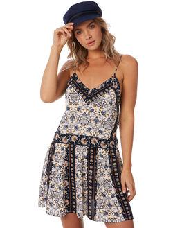 INDIGO WOMENS CLOTHING TIGERLILY DRESSES - T385438IND