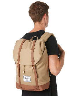 KELP SADDLE BROWN MENS ACCESSORIES HERSCHEL SUPPLY CO BAGS + BACKPACKS - 10066-02455-OSKSB