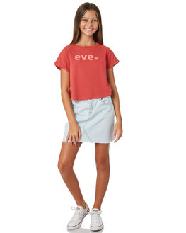 RED KIDS GIRLS EVES SISTER TOPS - 9520049RED