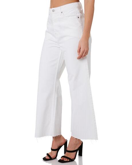 WHITE WOMENS CLOTHING DR DENIM JEANS - 1910131199WHT