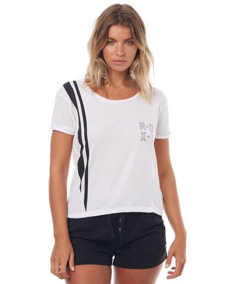 MARSHMELLOW WOMENS CLOTHING ROXY TEES - ERJKT03309MARSM