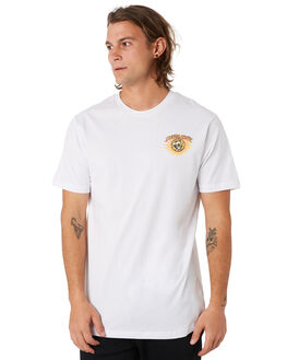 WHITE MENS CLOTHING SANTA CRUZ TEES - SC-MTC9461WHT