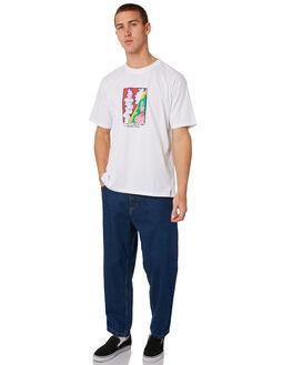 DARK BLUE MENS CLOTHING POLAR SKATE CO. JEANS - PSC-93DEN-DBLU