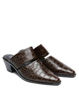 CHOC CROC WOMENS FOOTWEAR SOL SANA FASHION SANDALS - SS202W418CCROC
