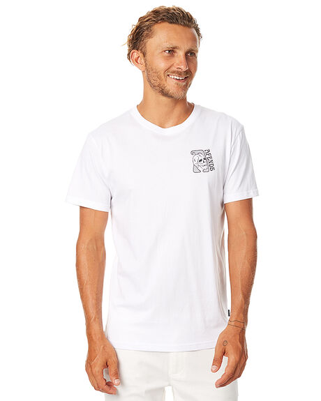 WHITE MENS CLOTHING AFENDS TEES - 01-01-285WHT