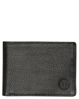 FLINT BLACK MENS ACCESSORIES ELEMENT WALLETS - 173573AFBLK
