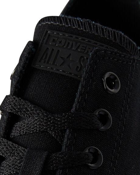 BLACK MONOCHROME MENS FOOTWEAR CONVERSE SNEAKERS - SS15039BLKMOM