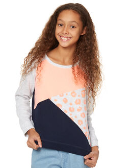 GREY MARLE KIDS GIRLS EVES SISTER JUMPERS - 9990089MULTI