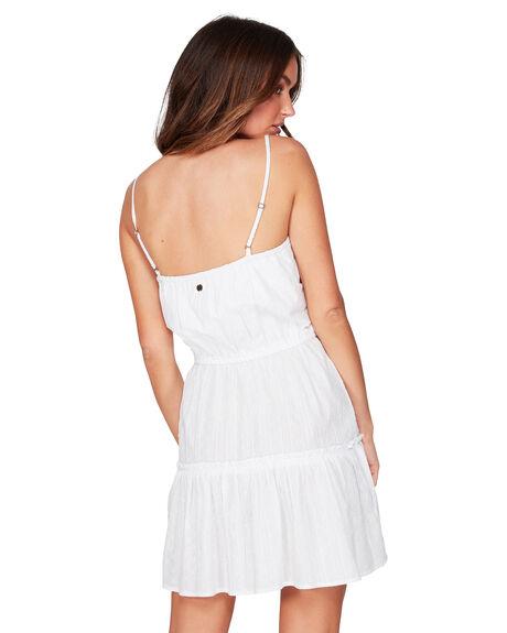 WHITE WOMENS CLOTHING BILLABONG DRESSES - BB-6507471-WHT