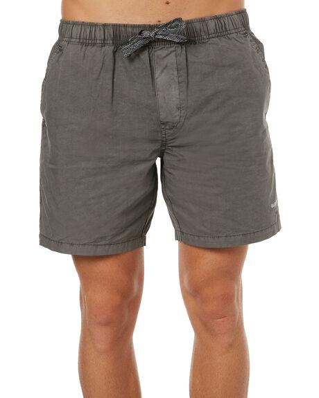 DIRTY BLACK MENS CLOTHING GLOBE SHORTS - GB01726005DBLK