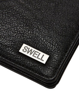 BLACK MENS ACCESSORIES SWELL WALLETS - SW-AW-001BLK