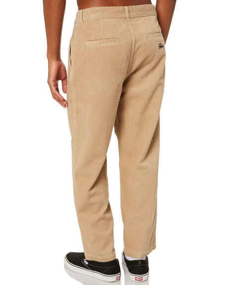 SAND MENS CLOTHING STUSSY PANTS - ST001608SAND