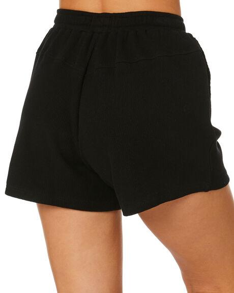 BLACK WOMENS CLOTHING RPM SHORTS - 21PW17BBLK