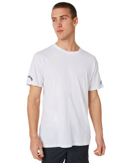 WHITE MENS CLOTHING THE CRITICAL SLIDE SOCIETY TEES - WST1712WHT
