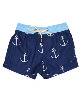 NAVY KIDS TODDLER BOYS ROOKIE BY THE ACADEMY BRAND BOARDSHORTS - R19S703NVY